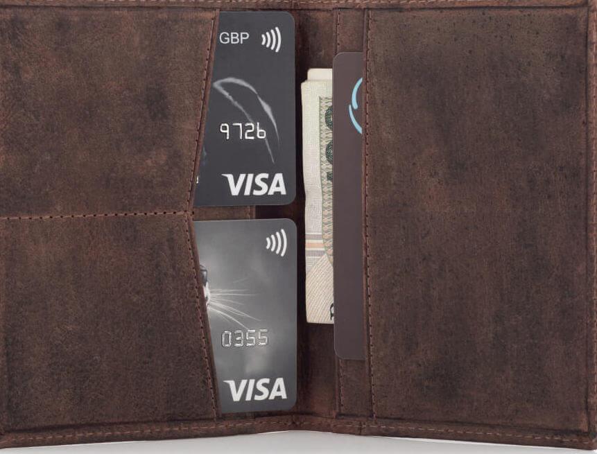 portfel bez monet